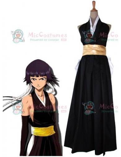 Bleach Soi Fon Fighting Cosplay Costume