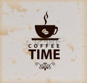 20150684-coffee-time-over-vintage-background-vector-illustration