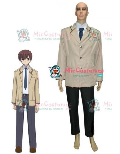 Angel Beats SSS Boys School Uniform Cosplay Costume