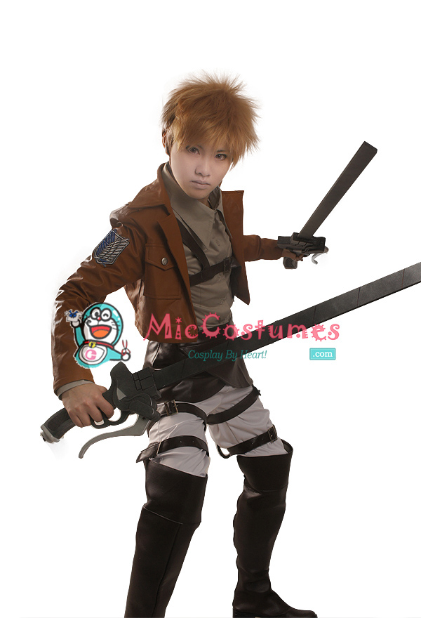 Attack on titan Jean Kirschstein Cosplay Costume