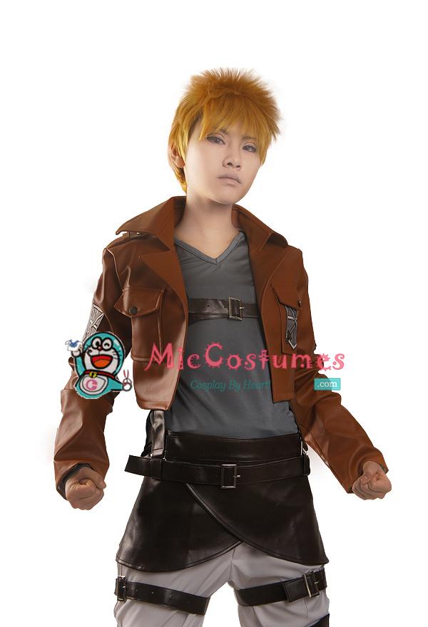 Attack on titan Reiner Braun Cosplay Costume