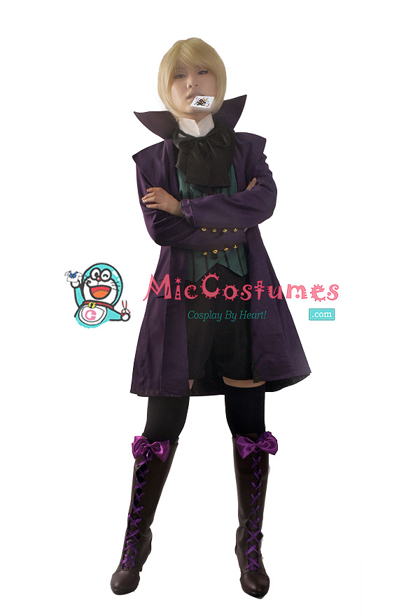 Black Butler 2 Earl Alois Trancy Cosplay Costume