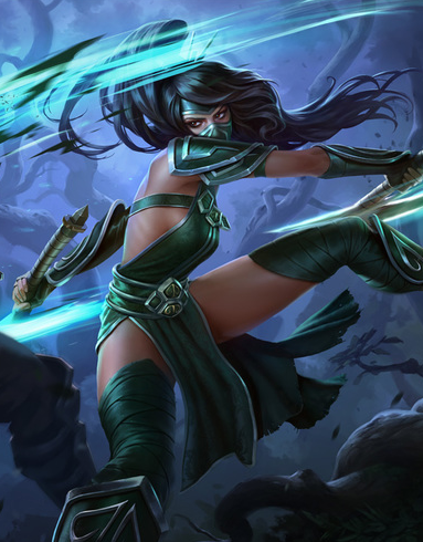 League of Legends Classic Akali Cosplay Costume
