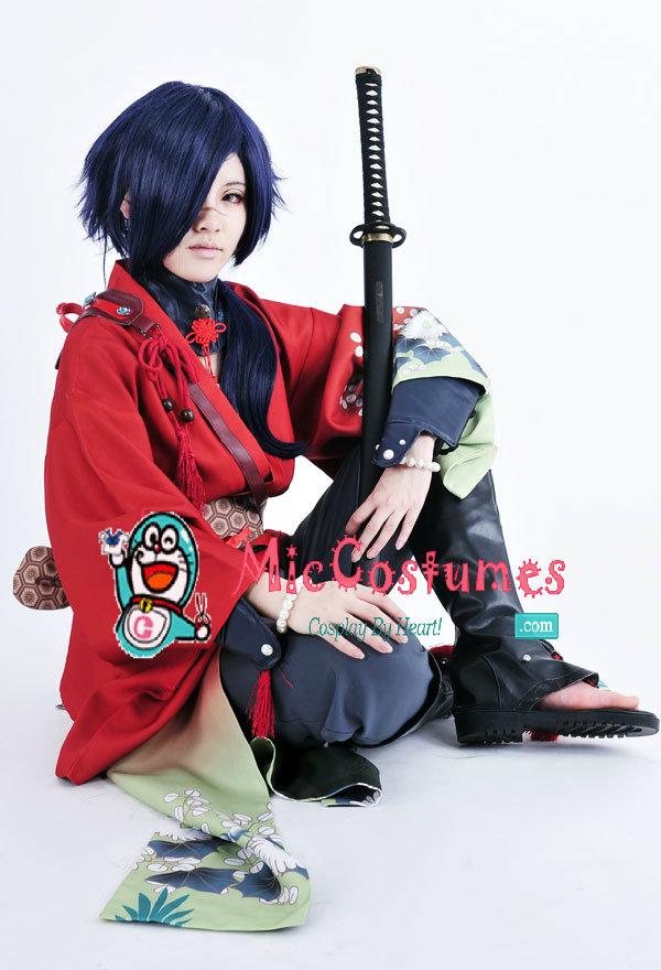 DMMD Dramatical Murder Koujaku Cosplay Costume Kimono