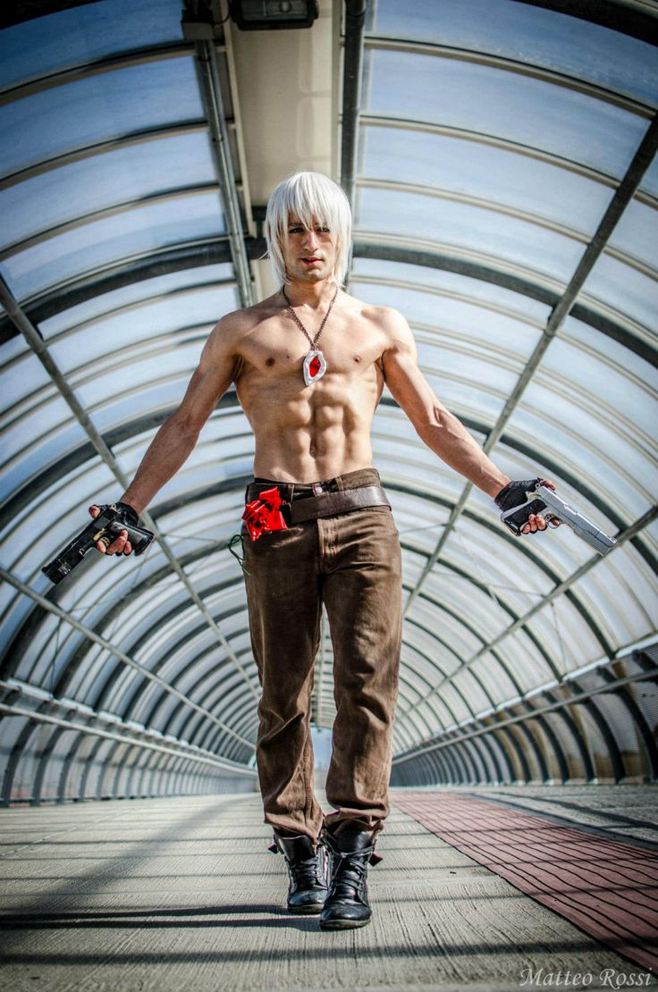 Dante Devil May Cry 3 Cosplay by L by ~LeonChiroCosplayArt