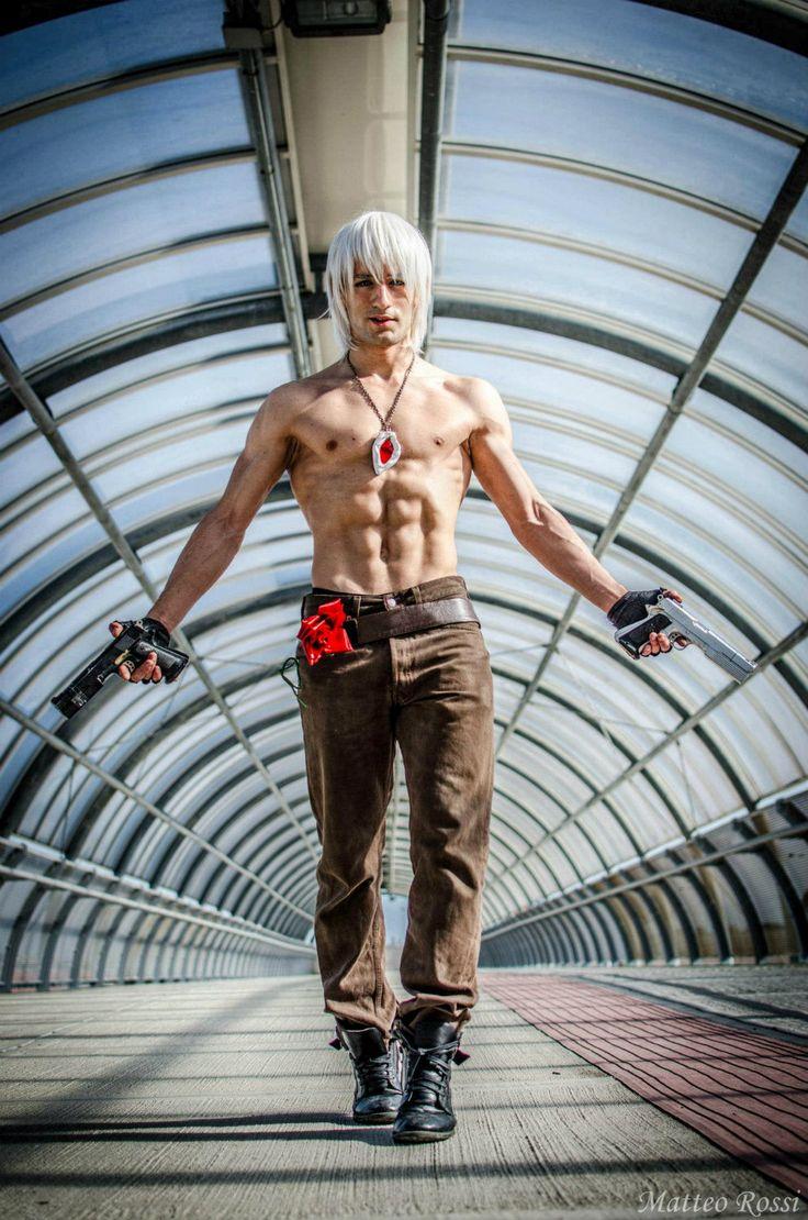 Dante Devil May Cry 3 Cosplay by L by ~LeonChiroCosplayArt