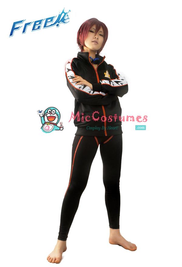 Free! Iwatobi Swim Club Rin Matsuoka Cosplay Coat