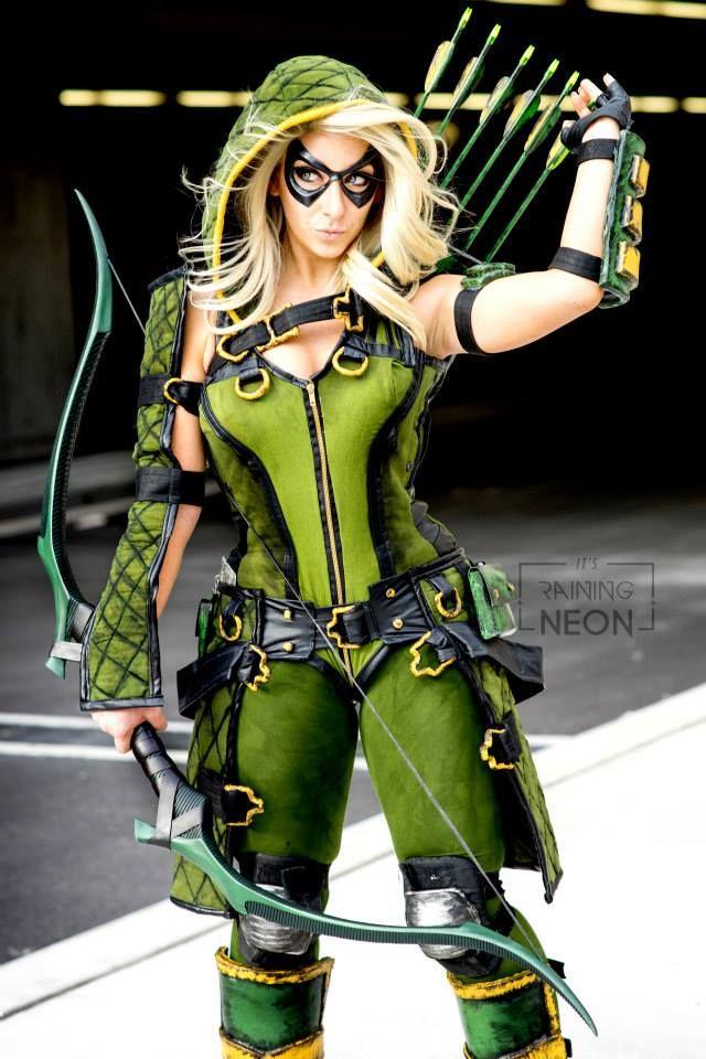 Gender bent Green Arrow