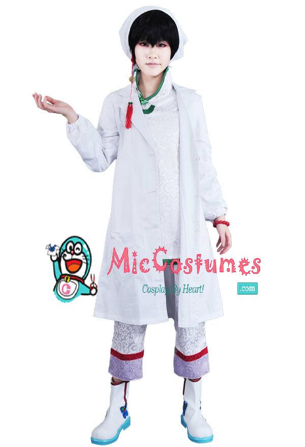 Hoozuki no Reitetsu Hakutaku Cosplay Costume