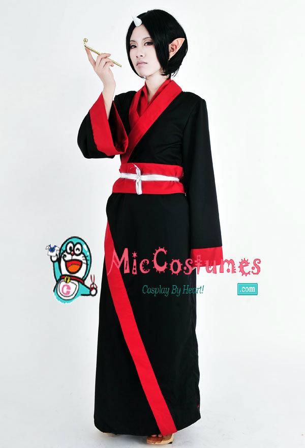 Hoozuki no Reitetsu Hoozuki Sama Cosplay Costume Kimono
