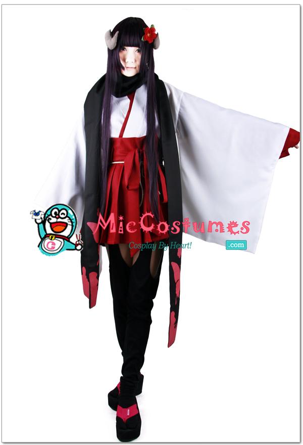 Inu_x_Boku_SS_Shirakiin_Ririchiyo_Cosplay_kimono_x1