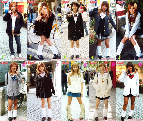 Japanese School Uniforms(part2)-Current Situation of Japanese School ...