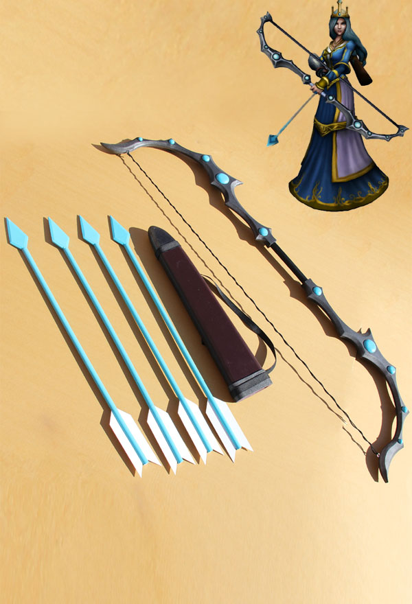 LOL_Frost_Archer_Ashe_Cosplay_Bow_and_Arrow_s