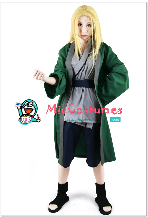 Naruto_Green_Tsunade_Cosplay_costume_x1