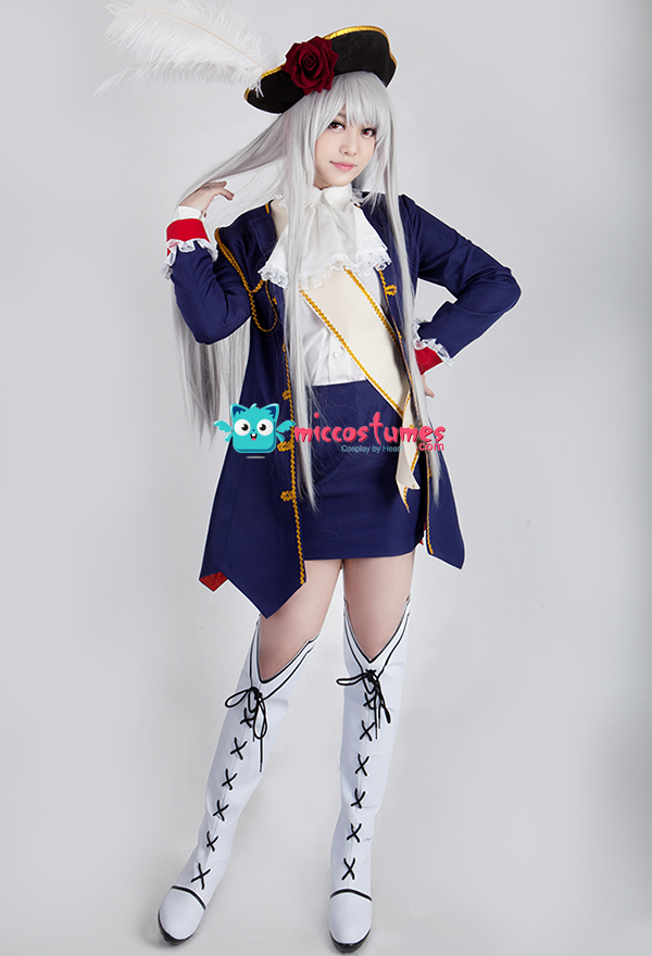 Axis Powers Hetalia Prussia Julchen Beillschmidt Cosplay Costume