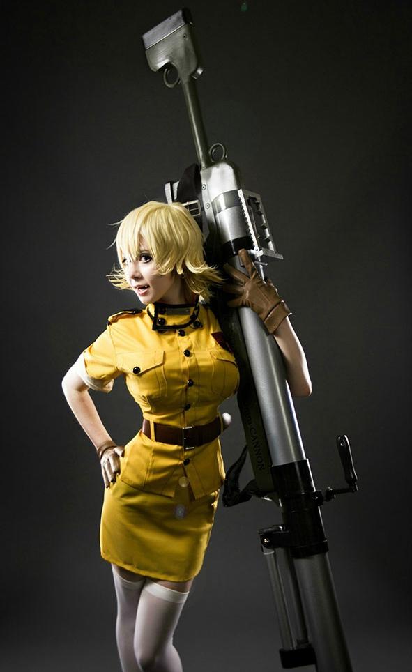 Seras Victoria Cosplay from Hellsing