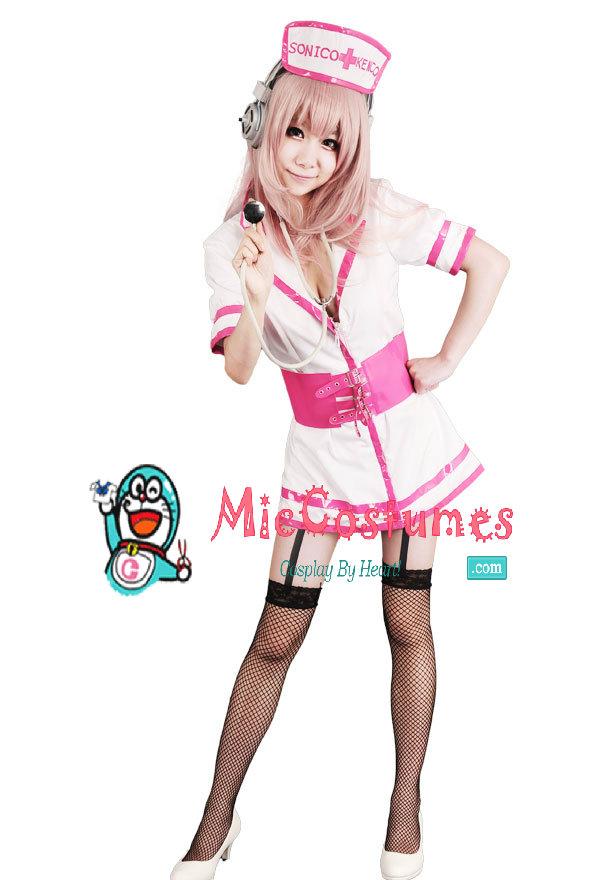 Supersonico Nurse Costume
