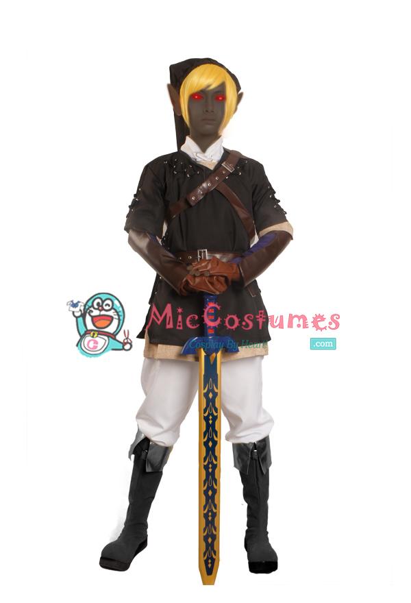 The Legend of Zelda Dark Link Cosplay Costume