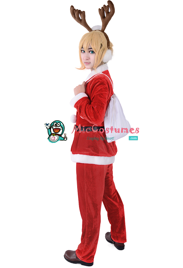 Vocaloid_Len_Christmas_Cosplay_Costume_1