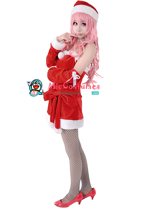 Vocaloid_Luka_Christmas_Cosplay_Costume_1