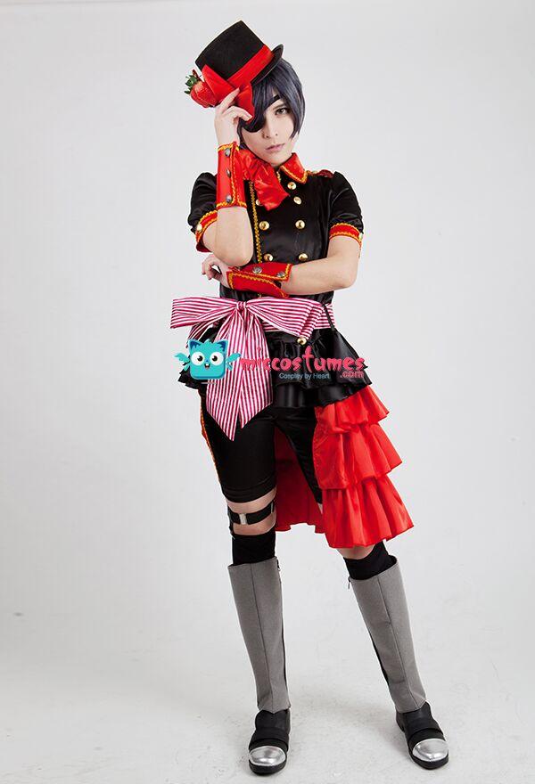 Black Butler Ciel Phantomhive Strawberry Cosplay Costume