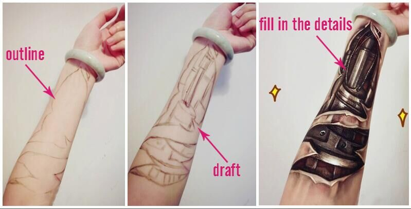 How To Make Cyborg Arms For Your Cosplay Here Are 5 Ways The