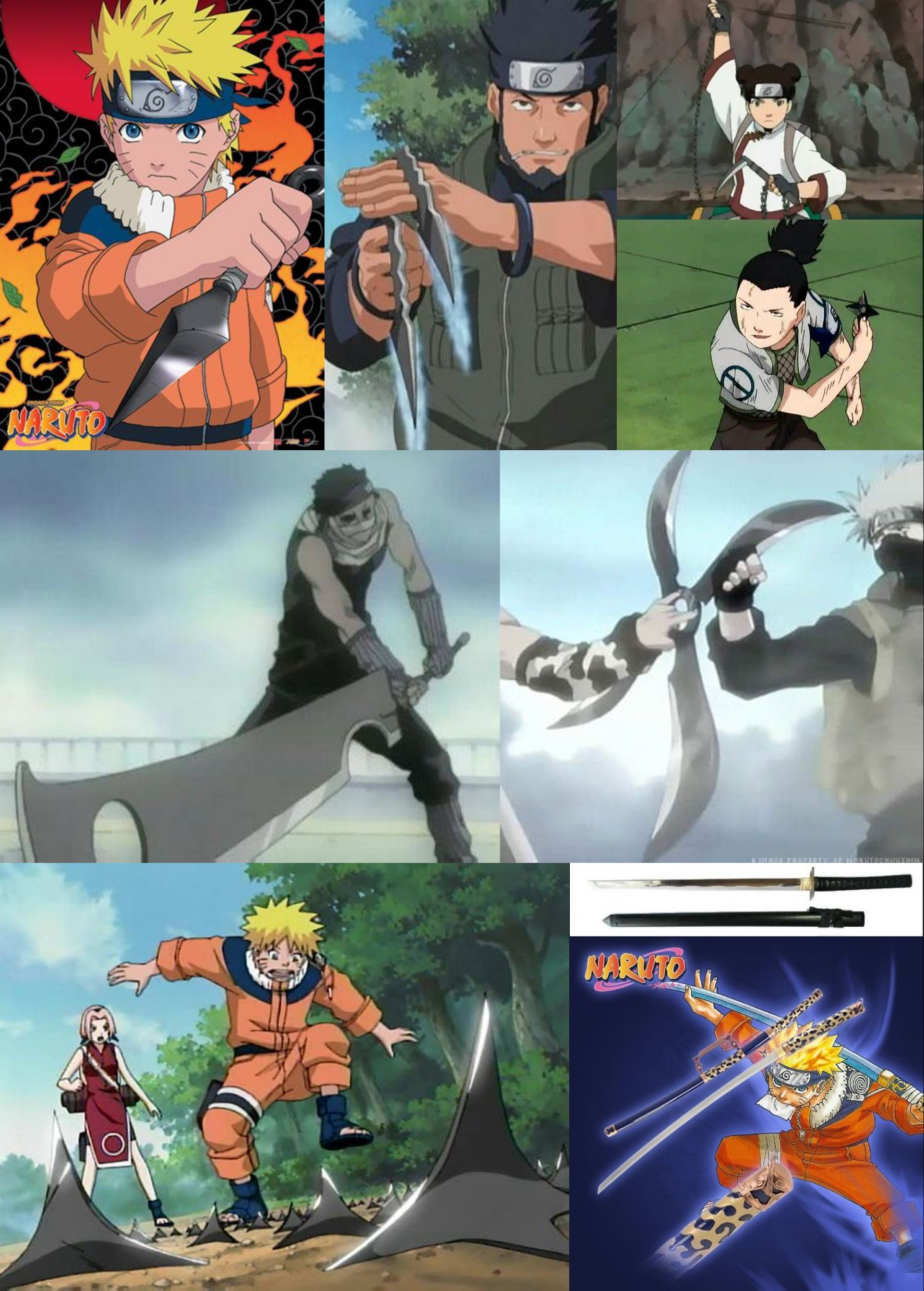 Know Ninja Weapons And Tools In Naruto-Help You Make ...