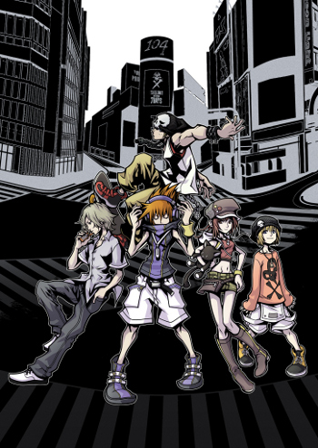 "Its bold graphics and hip soundtrack have defined ""TWEWY"" as one of the most stylish games ever made"