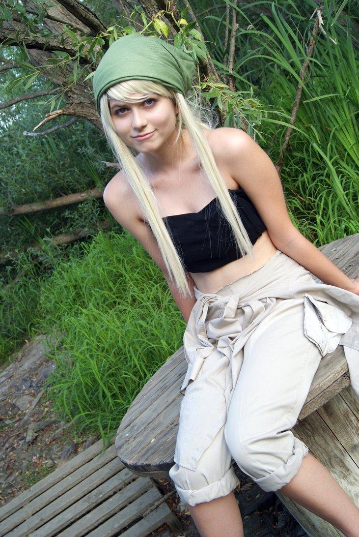 Daily Cosplay Fullmetal Alchemist Winry Rockbell Cosplay